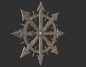 Mark of Chaos warhammer 3D print model