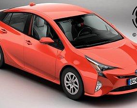 japan 3D model Toyota Prius 2016