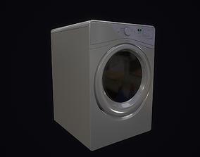 3D asset Washing and dryer machine
