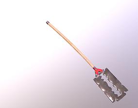 small battle axe 3D asset
