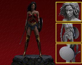 amazon Wonder Woman Justice League 3D printable model