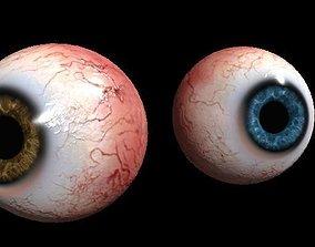 3D asset Eye Human