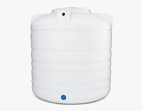 Water Tank 3D model industrial