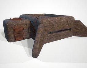 3D asset Bunker Dot