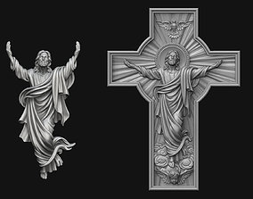 Jesus Ascension 3D model