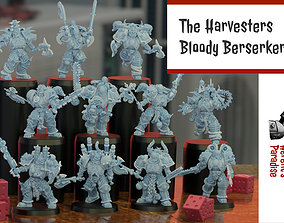 3D printable model The Harvesters - Bloody Berserkers