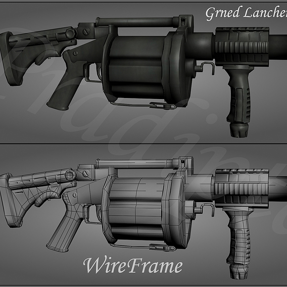 Gaming weapon project
