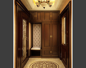 3D model Classic House Vestibule