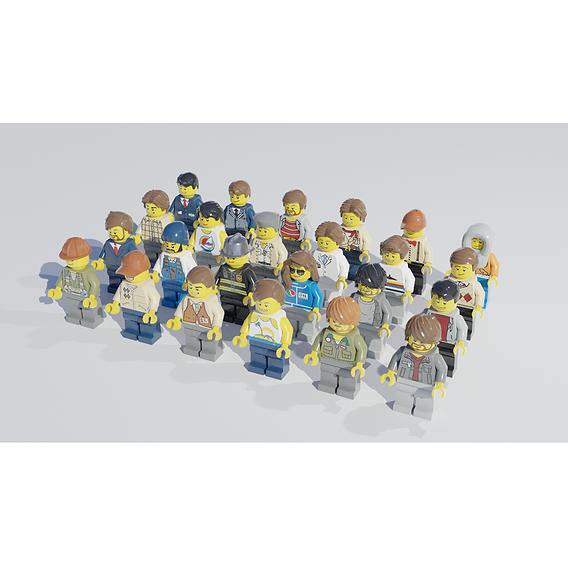 Lego minigigures