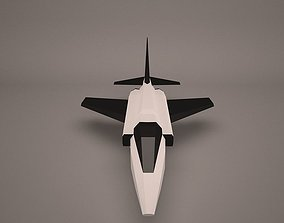 Military Aircraft fighter 3D model