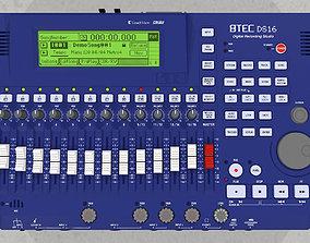 Digital Multitrack Recorder - Mixer 3D