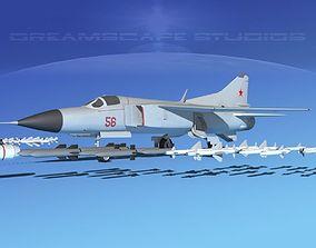 3D model Mig 23 Flogger B V03 USSR