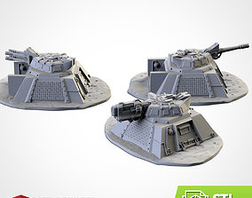 3D printable model ARMED BUNKERS