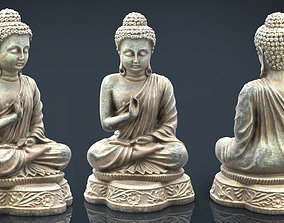 3D model Iron Buddha