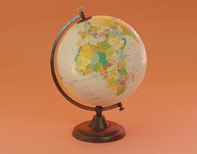 Desk Globe 3D asset