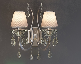 Chandelier crystal COLOSSEO 80314 2w 3D