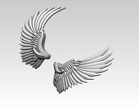 Bird Angel Wing Modern Art Jewel 3D printable model