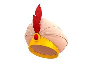 Sultan Hat 3D