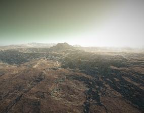 Mars Landscape 4K 3D