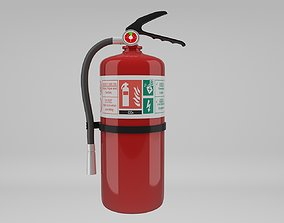 mud Fire Extinguisher 3D