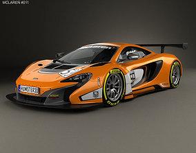 3D McLaren 650S GT3 2015