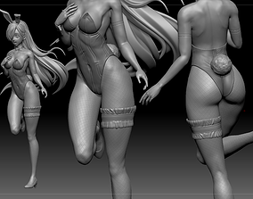 Elizabeth Liones Bunny Costume Seven Deadly 3D print model