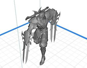 3D print model League of Legends - ZED