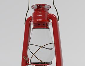 Oil Lamp 3D model lantern