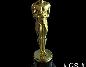 3D model Award Trophy Statue