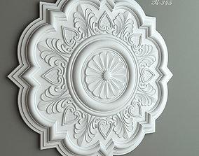 Ceiling rose Gaudi Decor 3D model