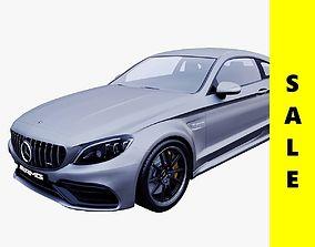 2019 Mercedes-AMG C 63 S Coupe 3D model