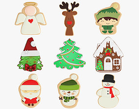 3D model Christmas Collection 06