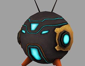 3D asset Small robot