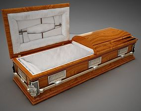 High Def Classic Coffin Cherry 3D model