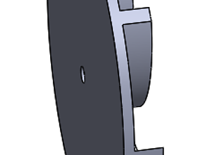 centrifugal impeller fan 3D