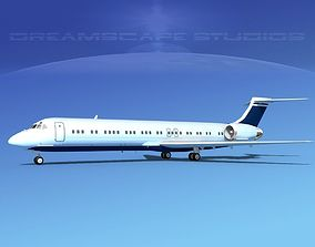 McDonnell Douglas MD-87 Corporate 15 3D model