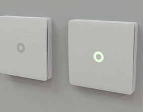 Wall Switch 3D model