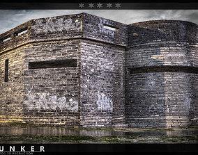 3D asset Bunker