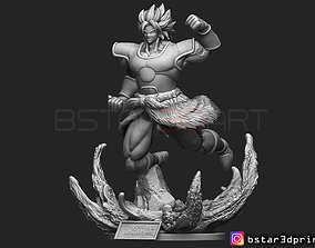 3D print model Broly version 02 - from Broly movie 2019
