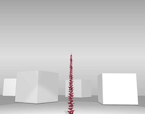 Wild Wine Vine - Parthenocissus - Autumn - 3D asset 1
