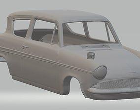 Anglia 105e Printable Body Car