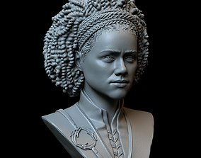 Missandei from Game of Thrones Nathalie 3D print model 1