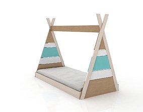 Montessori Apache Bed 3D asset