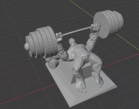 BenchPress creation 3d
