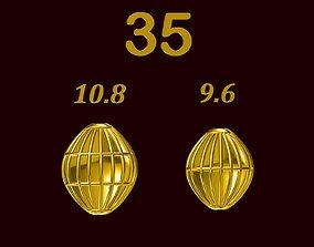 Para ball jewelery gold printable plain studded 35