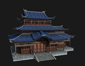 3D asset Ancient Chinese houses Buildings