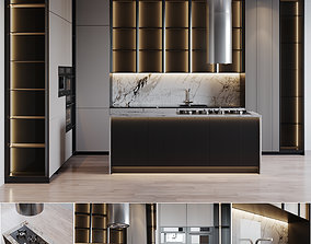 3D Kitchen Modern 21