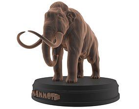 Woolly Mammoth Printable