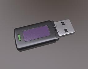 3D model USB Flash Drive V2