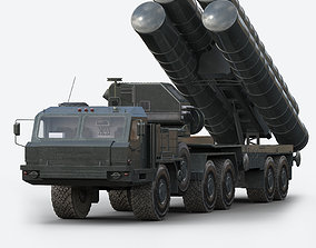 S-400 Air Defence System 3D